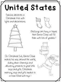 Christmas Around the World - 10 countries