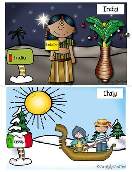Christmas Around the World 15 Countries PLUS Hanukkah, Kwanzaa, Chinese New Year