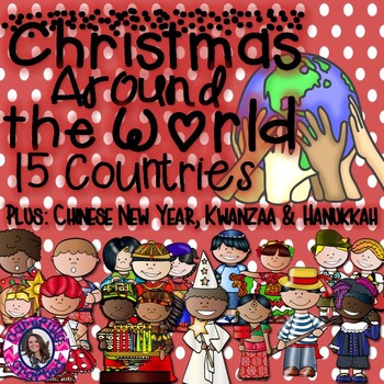 Christmas Around the World 15 Countries PLUS Hanukkah, Kwa