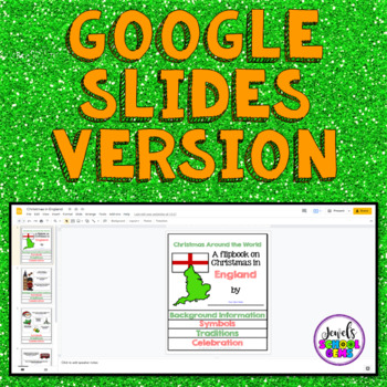 Christmas Around the World Research Activities (Christmas in England Flipbook)