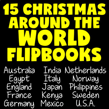 Christmas Around the World Research Project (December Activities)