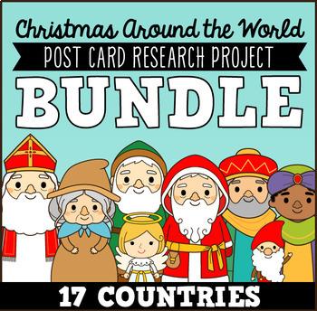 Christmas Around the World Holidays Around the World Research Packet