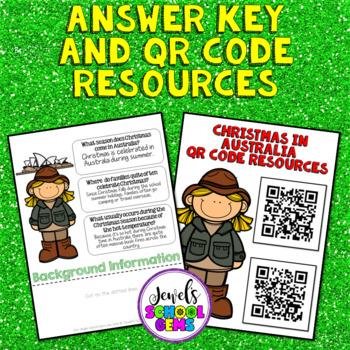 Christmas Around the World Research Activities (Christmas in Australia Flipbook)