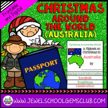 Christmas In Australia Background.Christmas Around The World Research Activities Christmas In Australia Flipbook