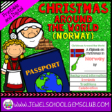 Christmas Around the World Research Activities (Christmas in Norway Flipbook)