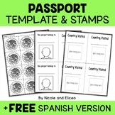 Holidays Around the World - Christmas Passport Templates