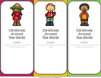 Christmas Around the World Activities: A Christmas Reading Game