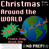 Christmas Around the World Free Fun Activity