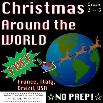 Christmas Around the World Free Fun Activity