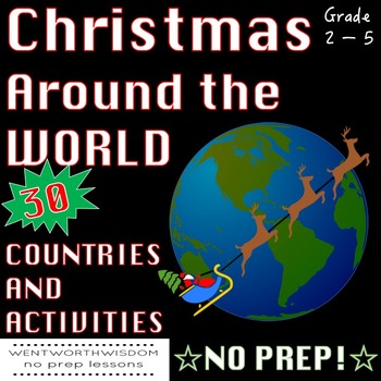 Christmas Around the World Holiday Activities No Prep