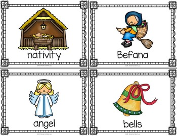 Christmas Around the World Write the Room Activities Bundle
