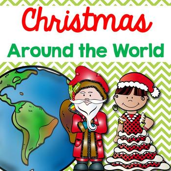 Christmas Around the World (Comprehensions, Fact Sheets, Venn Diagrams, etc)