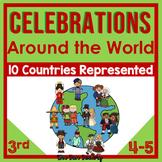 Christmas Around the World, Holidays Around the World  3rd 4th 5th