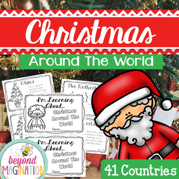 Christmas Around the World Booklet | 172 Pages for Differentiated Learning