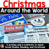 Christmas Around the World: A Week-Long Study and Craftivity for Grades 3-5