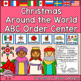 Christmas Around the World ABC Order Center/Station with d