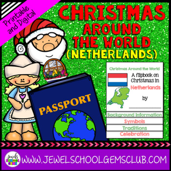 Christmas Around the World Research Activities (Christmas in Netherlands)