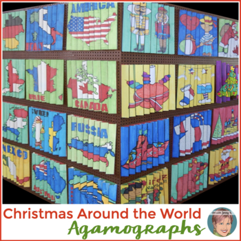Christmas Around the World Agamographs - 12 Designs - Holidays Around the World!