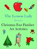 Christmas Around the World Art Activities for Fast & Early Finishers