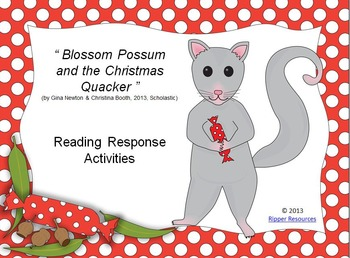 Christmas in Australia (Bundle of 3 picture book comprehension resources)