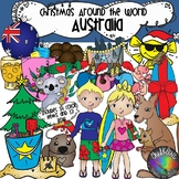 Christmas Around the World- Australia Clip Art