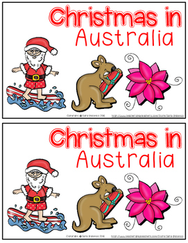 Christmas Around the World: Australia Emergent Easy Reader and Flip Book