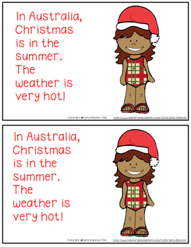 Christmas Around the World: Australia Emergent Easy Reader and Flip Book