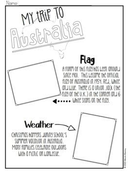 Christmas Around the World: Australia Scrapbook