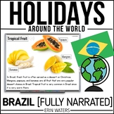 Winter Holidays | Christmas | BRAZIL | Powerpoint | Distance Learning