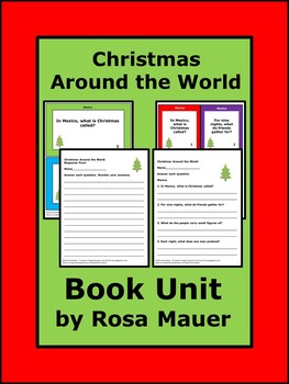 Christmas Around the World Book Unit