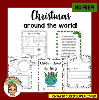 Christmas Around the World Booklet