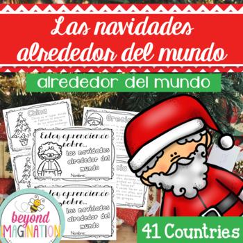 Christmas Around the World Booklet   Spanish Version