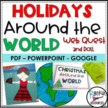 Christmas Around the World Research Project
