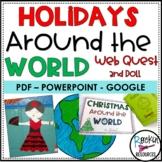 Christmas Around the World Research Project HOLIDAYS AROUN