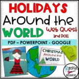 Christmas Around the World   HOLIDAYS AROUND THE WORLD   DISTANCE LEARNING