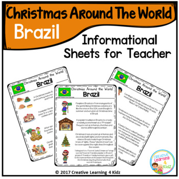 Christmas Around the World Books Set #2: Brazil
