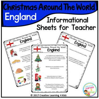 Christmas Around the World Books Set #2: England