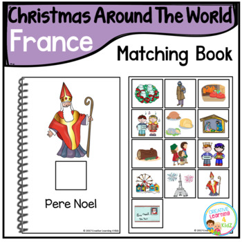 Christmas Around the World Books Set #2: France