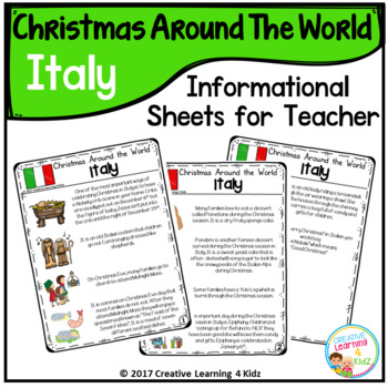 Christmas Around the World Books Set #2: Italy