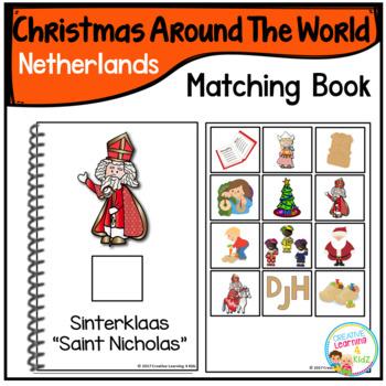 Christmas Around the World Books Set #2: Netherlands