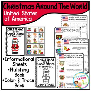 Christmas Around the World Books Set #2: United States
