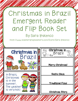 Christmas Around the World: Brazil Emergent Easy Reader and Flip Book