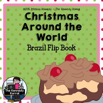 Christmas Around the World - Brazil - {Flip Book}