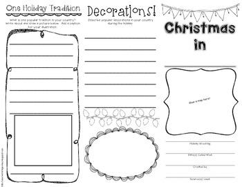 Christmas Around the World Brochure Freebie!