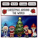 Christmas Around the World Flip Book for 8 Countries: Australia, Canada, England