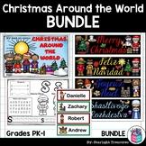 Christmas Around the World Bundle: Mini Book, Name Tags, Bookmarks, & More