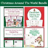 Christmas Around the World Bundle with Print Copywork, Mat