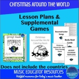 Christmas Around the World Camp Workshop Lesson Plans & Su