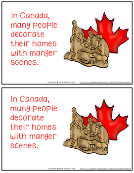 Christmas Around the World: Canada Emergent Easy Reader and Flip Book
