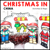 Christmas Around the World CHINA Maps Flags Information Cards and Recipe